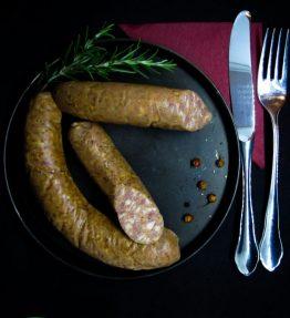 Bio - Geselchte Bratwürstel weich (zum warm essen)
