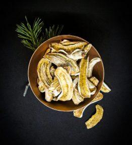 Bio Bananen getrocknet