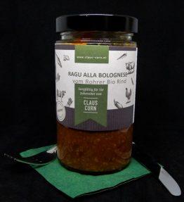 Ragú alla bolognese vom Rohrer Bio Rind